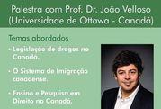 Professor da Universidade de Otawa fara palestra na UFPR sobre legislacao canadense sobre drogas