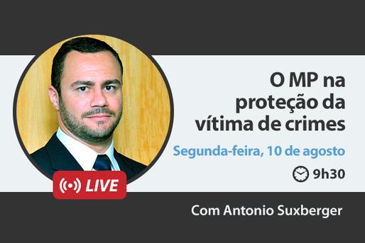 [LIVE] O MP na proteção da vítima de crimes